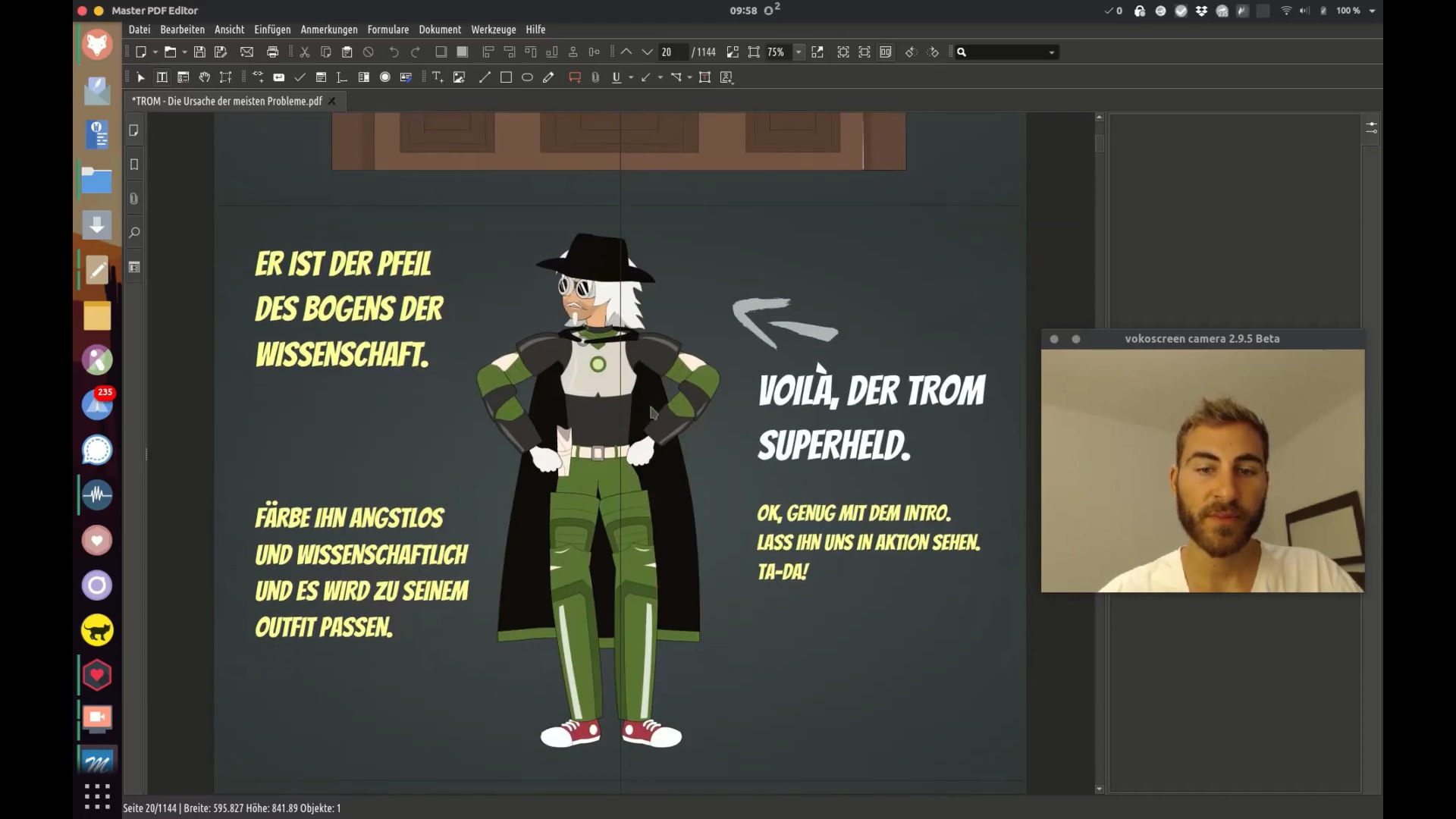 How to translate a TROM ebook