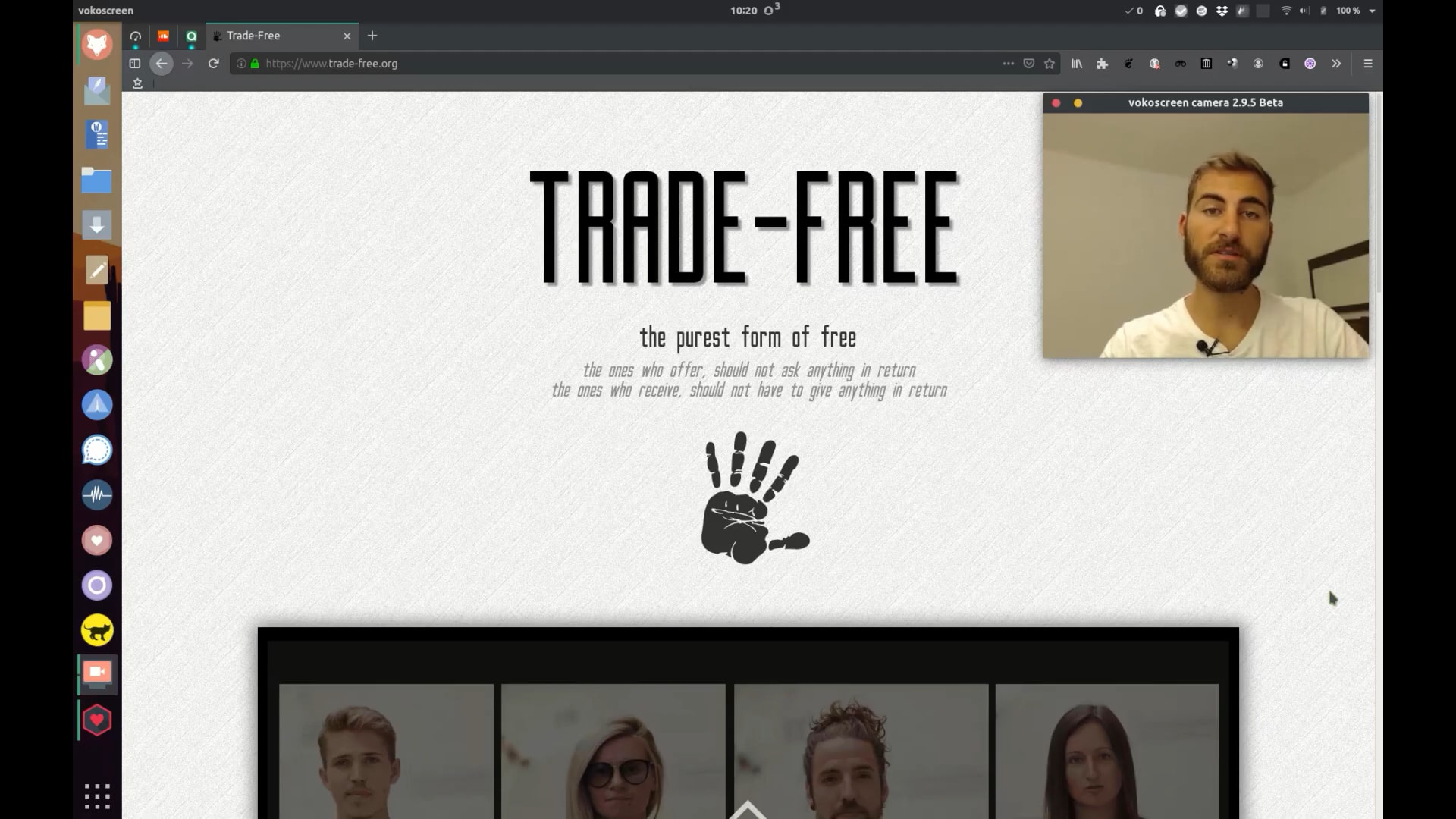 How to translate trade-free.org
